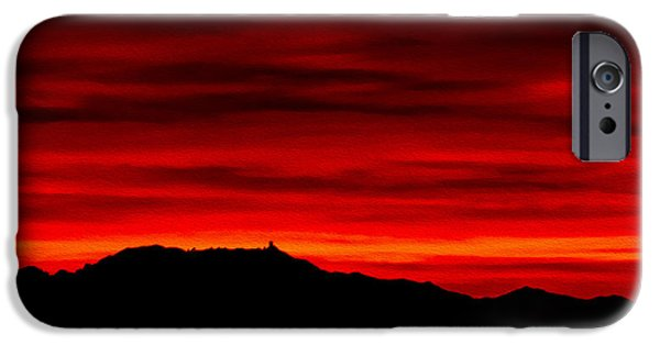 IPhone 6 Case featuring the photograph Painted Sky 36 by Mark Myhaver