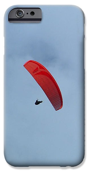 IPhone 6 Case featuring the photograph Parapente by Marc Philippe Joly