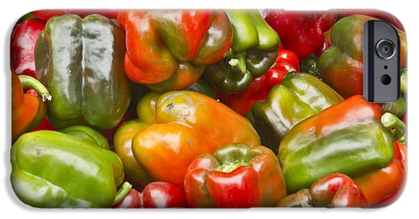 IPhone 6 Case featuring the photograph Peppers by Ricky L Jones