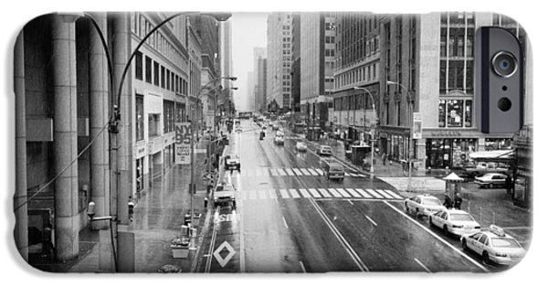 IPhone 6 Case featuring the photograph Pershing View 42nd Street Nyc by Dave Beckerman