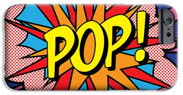 Colorful iPhone 6 Case - Pop Exclamation by Gary Grayson