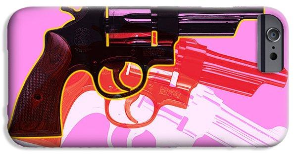 Colorful iPhone 6 Case - Pop Handgun by Gary Grayson