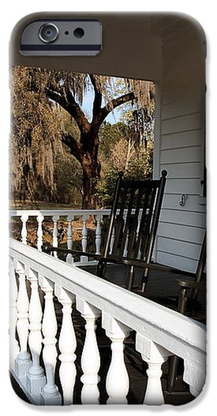 Porch View iPhone Case by John Rizzuto