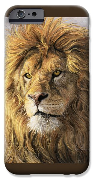 Wildlife iPhone 6 Case - Portrait Of A Lion by Lucie Bilodeau