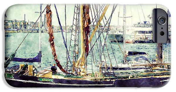 Portsmouth Harbour Boats IPhone 6 Case