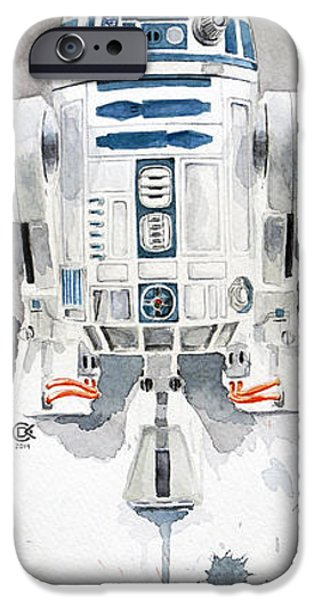 Star iPhone 6 Case - R2 by David Kraig