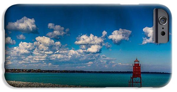 Racine Harbor Lighthouse IPhone 6 Case
