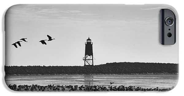IPhone 6 Case featuring the photograph Racine Lakefront by Ricky L Jones
