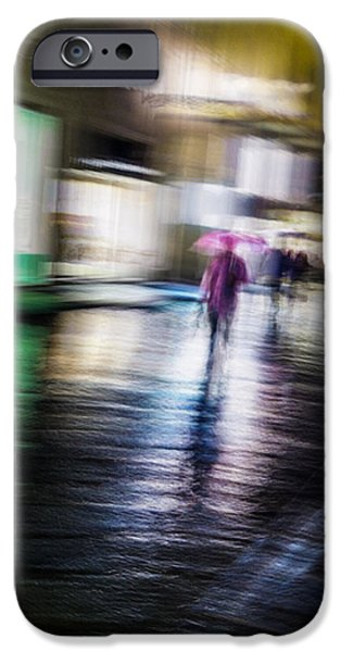 IPhone 6 Case featuring the photograph Rainy Streets by Alex Lapidus