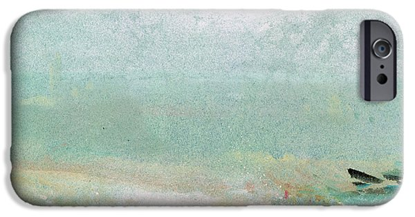Abstract iPhone 6 Case - River Bank by Joseph Mallord William Turner