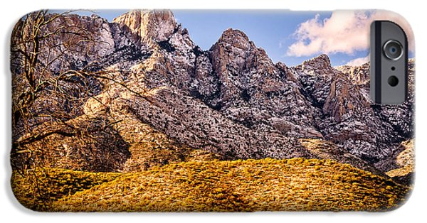 IPhone 6 Case featuring the photograph Rocky Peaks by Mark Myhaver