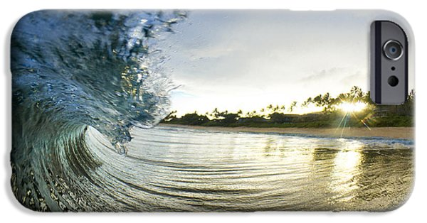 Water Ocean iPhone 6 Case - Rolled Gold by Sean Davey