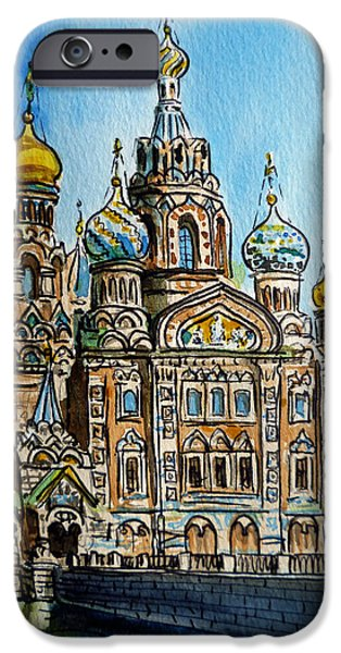 Saint Petersburg Russia The Church Of Our Savior On The Spilled Blood IPhone 6 Case