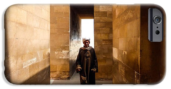 IPhone 6 Case featuring the photograph Saqqara Temple by Anthony Baatz