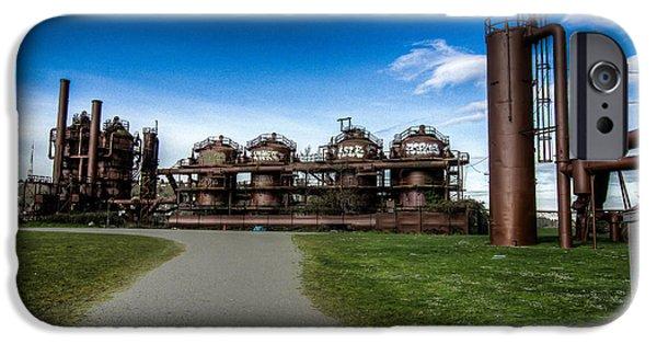 Gas Works Park iPhone 6 Cases | Fine Art America