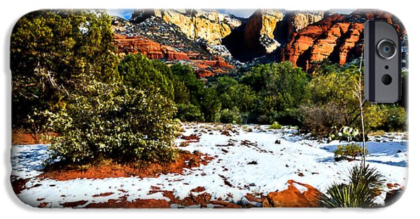 Oak Creek iPhone Cases - Sedona Arizona - Wilderness iPhone Case by  Bob and Nadine Johnston