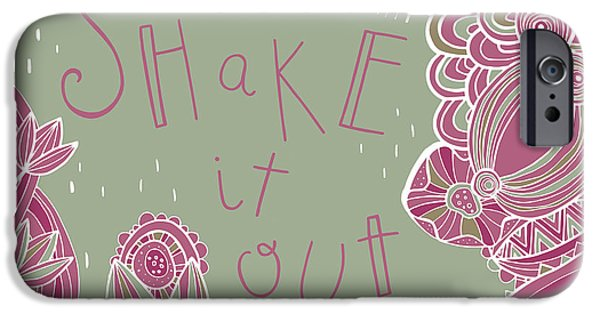 Folk Art iPhone 6 Case - Shake It Out by Susan Claire