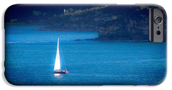 IPhone 6 Case featuring the photograph Shimmer Of The White Sail by Miroslava Jurcik