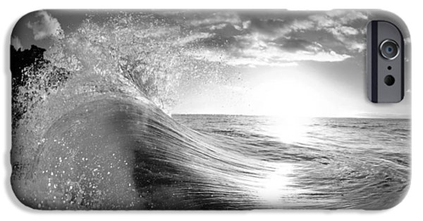 Water Ocean iPhone 6 Case - Shiny Comforter by Sean Davey