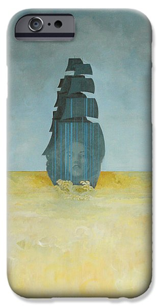 Contemporary iPhone 6 Case - Ship by Sandra Cohen