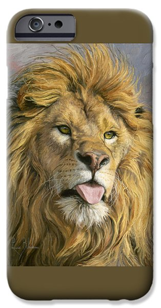 Animal iPhone 6 Case - Silly Face by Lucie Bilodeau