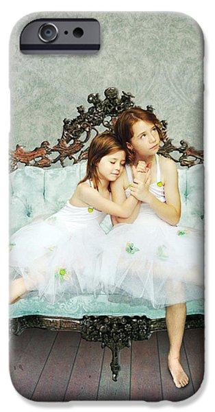 Sisters IPhone 6 Case by Linda Lees
