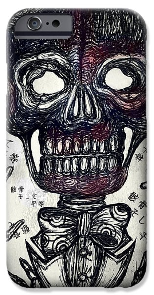 Skull And Equality IPhone 6 Case by Akiko Okabe