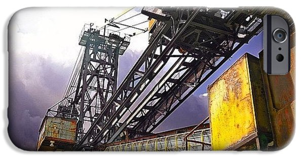 Detail iPhone 6 Case - #sky #architecture #industrie #summer by Phil Grubers