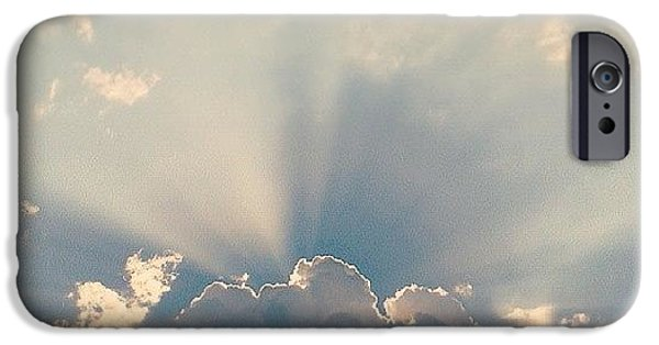 Bright iPhone 6 Case - Sky by Raimond Klavins