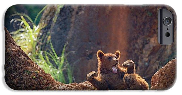 Brown iPhone 6 Case - Sloth. by Sergio Saavedra Ruiz