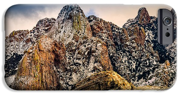 IPhone 6 Case featuring the photograph Snow On Peaks 45 by Mark Myhaver