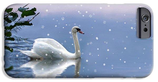 Snow Swan II IPhone 6 Case