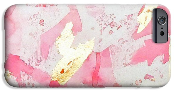 Contemporary iPhone 6 Case - Softly Pink by Roleen  Senic