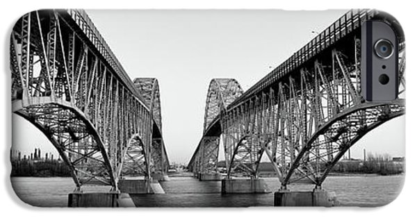 Ironwork iPhone 6 Case - South Grand Island Bridges, New York by Panoramic Images