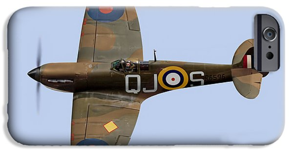 Spitfire Mk 1 R6596 Qj-s IPhone 6 Case by Gary Eason