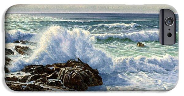 Pacific Ocean iPhone 6 Case - Splash Seascape by Paul Krapf