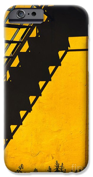 IPhone 6 Case featuring the photograph Staircase Shadow by Silvia Ganora