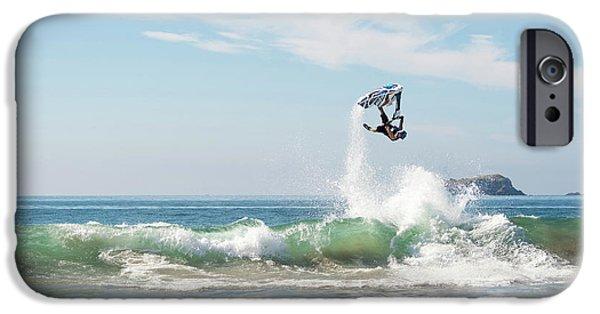 Jet Ski iPhone 6 Case - Stand Up Jet Ski Backflip Nac Nac by Marcos Ferro