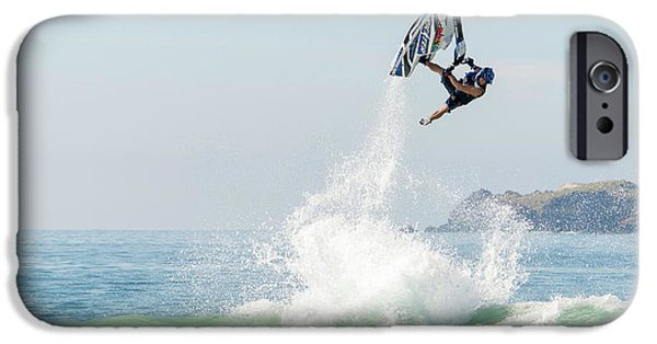 Jet Ski iPhone 6 Case - Stand Up Jet Ski Barrel Roll Nac Nac by Marcos Ferro