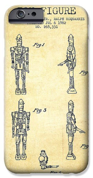 robot monster iphone 6 case star wars toy figure no5 patent drawing from 1982