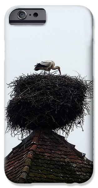 IPhone 6 Case featuring the photograph Stork by Marc Philippe Joly