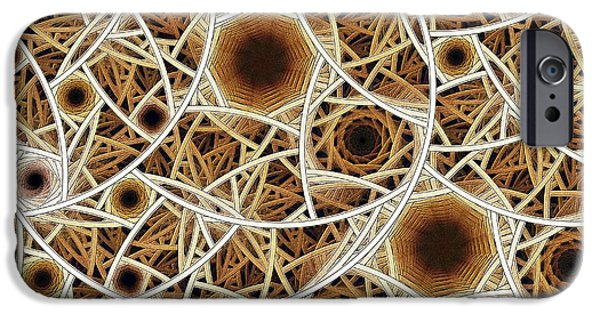 Conceptual Digital iPhone Cases - Straw Mosaic iPhone Case by Anastasiya Malakhova