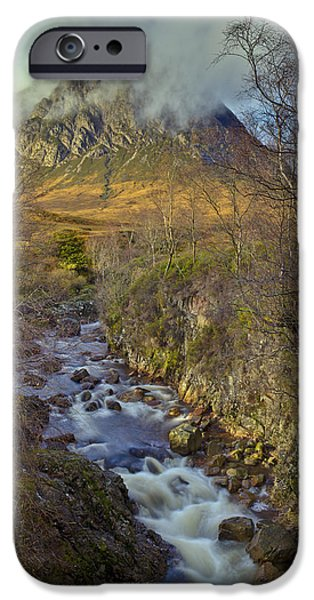 Stream Below Buachaille Etive Mor IPhone 6 Case by Gary Eason