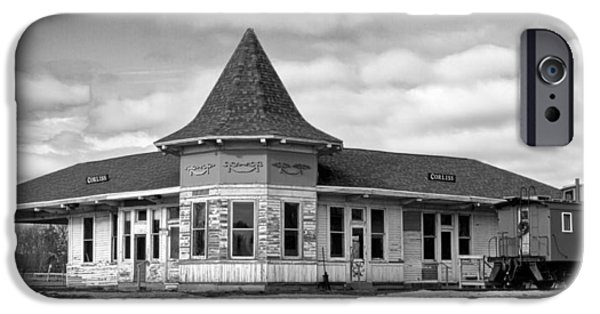 IPhone 6 Case featuring the photograph Sturtevant Old Hiawatha Depot In Hdr by Ricky L Jones