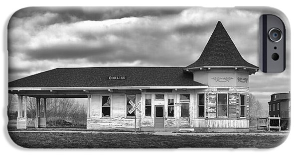 IPhone 6 Case featuring the photograph Sturtevant Old Hiawatha Depot by Ricky L Jones
