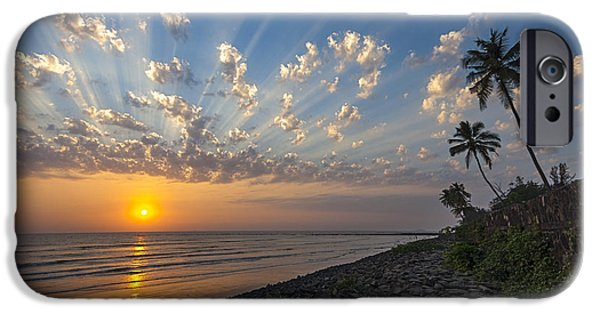 Sunset At Alibag, Alibag, 2007 IPhone 6 Case by Hitendra SINKAR