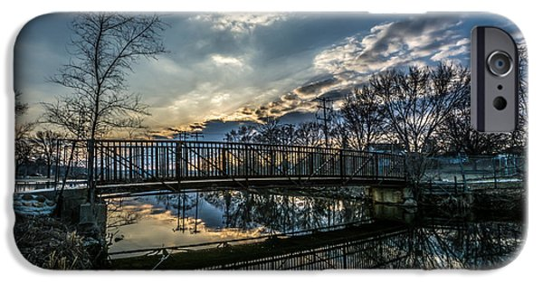 Sunset Bridge 2 IPhone 6 Case