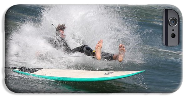 IPhone 6 Case featuring the photograph Surfer Wipeout by Nathan Rupert