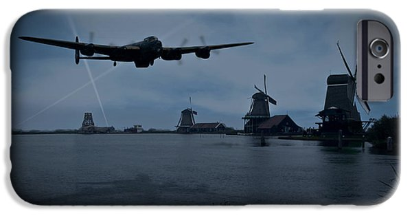 Dambusters Lancaster T For Tommy En Route To The Sorpe IPhone 6 Case by Gary Eason
