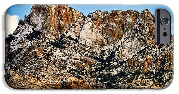 IPhone 6 Case featuring the photograph Table Mountain In Winter 42 by Mark Myhaver